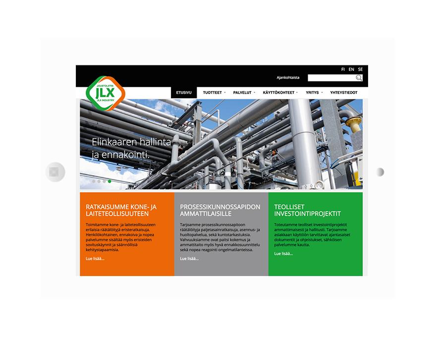 JLX Industry brändiuudistus